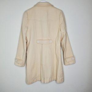 BP Jackets & Coats - Nordstrom BP Cream Wool Peacoat